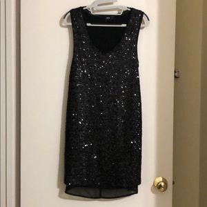 Asos sequin tank dress